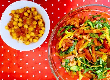 תבשיל חומוס ועגבניות של אביטל