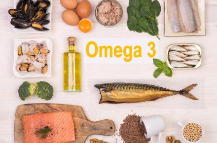 רמות נמוכות של חומצות שומן מסוג אומגה 3