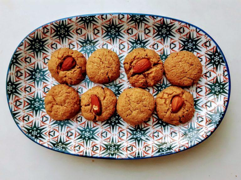 עוגיות טחינה דלות פחמימה 2 ולנטינה לוריא